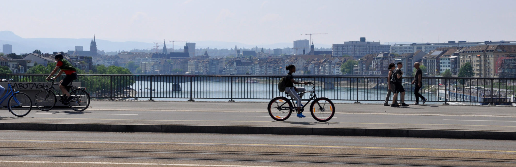 Basel Dreirosenbrücke
